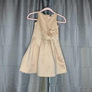 Baby Gap Bow Front Zipper Back Dress 5 Years